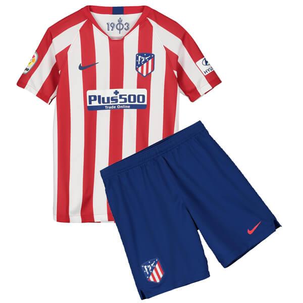 Домашняя детская форма Атлетико Мадрид сезон 2019-2020
