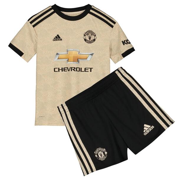 Гостевая детская форма Манчестер Юнайтед сезон 2019-2020