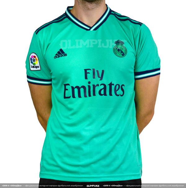 Футболка Реал Мадрид резервная 2019-2020